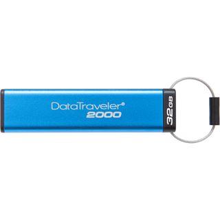 32 GB Kingston DataTraveler 2000 blau USB 3.0
