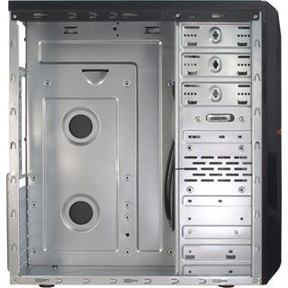 Inter-Tech GM-C10 Midi Tower ohne Netzteil schwarz