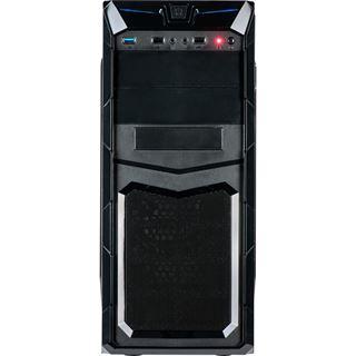 Inter-Tech GM-C11 Midi Tower ohne Netzteil schwarz
