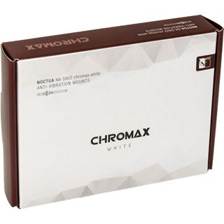 Noctua NA-SAV2 chromax.white Anti-Vibrationsset - weiß
