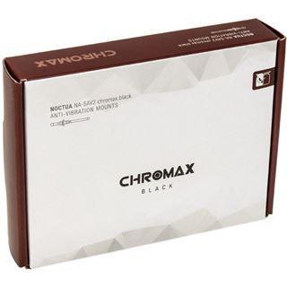 Noctua NA-SAV2 chromax.black Anti-Vibrationsset - schwarz