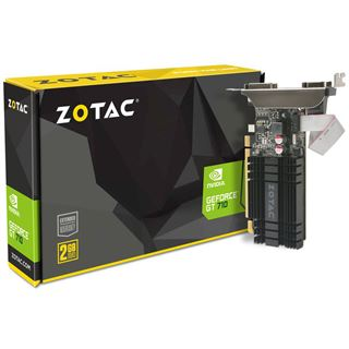 2GB ZOTAC GeForce GT 710 Zone Edition Passiv PCIe 2.0 x16 (Retail)