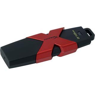 512 GB HyperX Savage schwarz/rot USB 3.0