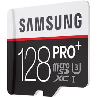 128 GB Samsung Pro Plus microSDXC Class 10 U3 Retail inkl. Adapter