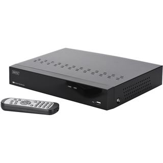 Digitus Netzwerk Video Rekorder Plug&View MiniNVR 4 Kanäle