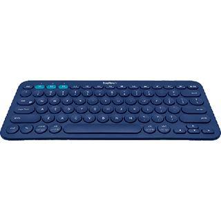 Logitech K380 Bluetooth Deutsch blau (kabellos)