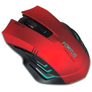 Speedlink SL-680100-BK USB rot/schwarz (kabellos)