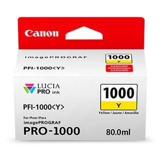 Canon Tinte PFI-1000Y 0549C001AA gelb