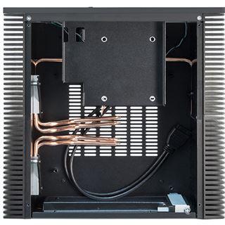 Chieftec Exqu!sit Design HF-200B Mini-ITX ohne Netzteil schwarz