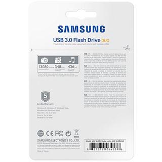 64 GB Samsung MUF-64CB/EU grau USB 3.0 und microUSB