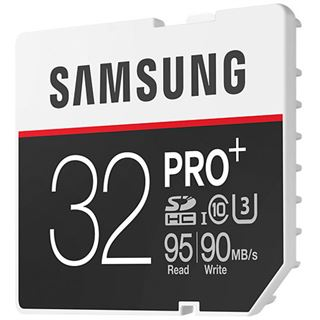 32 GB Samsung Pro Plus SDHC Class 10 U3 Retail