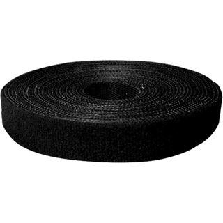 LogiLink Kabelbinder aus Klettband 4.0m schwarz