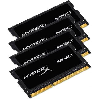 32GB HyperX Impact DDR4-2400 SO-DIMM CL15 Quad Kit