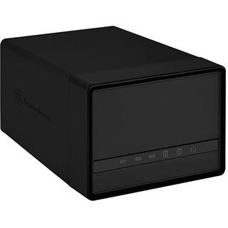Silverstone SST-DS222 2-Bay 2,5 Zoll HDD Gehäuse USB 3.0 - schwarz