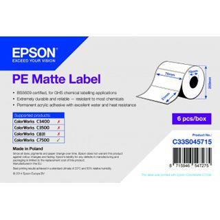 Epson Matte Label