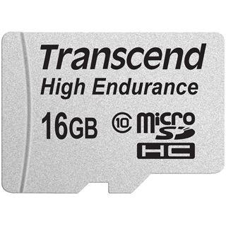 16 GB Transcend TS16GUSDHC10V microSDHC Class 10 Retail inkl. Adapter auf SD