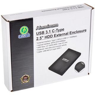 "Lian Li EX-10CB 2.5"" (6,35cm) USB 3.1 schwarz"