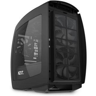 NZXT Manta mit Sichtfenster ITX Tower ohne Netzteil schwarz