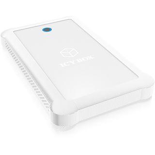 "ICY BOX IB-233U3-Wh 2.5"" (6,35cm) USB 3.0 weiss"