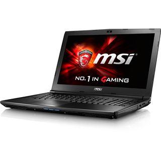 """Notebook 15.6"""" (39,62cm) MSI GL62 6QF - GL62-6QFi781H11"""
