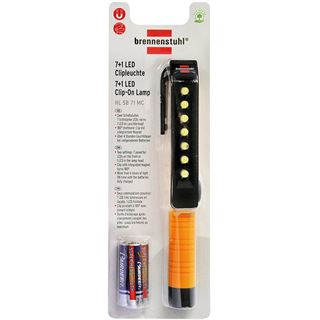 Brennenstuhl 7+1 LED mit Clip