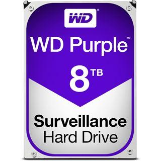 """8000GB WD Purple WD80PUZX 128MB 3.5"""" (8.9cm) SATA 6Gb/s"""