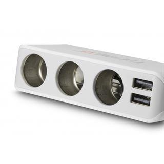 Technaxx 4-PORT USB und 3 Sock