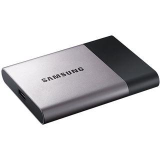 2000GB Samsung Portable SSD T3 MU-PT2T0B/EU MO-300A USB 3.0 (Typ-C) silber