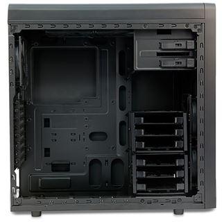 Antec GX1000 Midi Tower ohne Netzteil schwarz