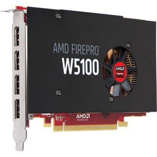 4GB Sapphire FirePro W5100 Aktiv PCIe 3.0 x16 (Retail)