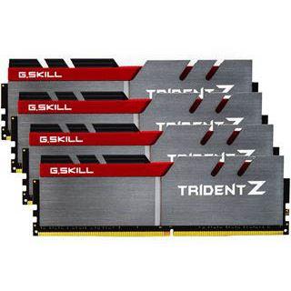 64GB G.Skill Trident Z silber/rot DDR4-3200 DIMM CL14 Quad Kit