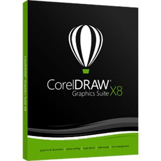 Corel Graphics Suite x8 18.0 UPGRADE deutsch DVD