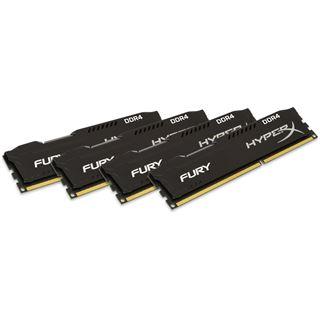 32GB HyperX FURY schwarz Single Rank DDR4-2400 DIMM CL15 Quad Kit