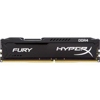 8GB HyperX FURY schwarz Single Rank DDR4-2133 DIMM CL14 Single
