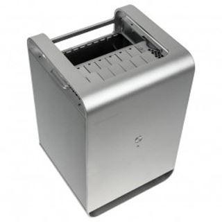 Silverstone Case Storage CS01-HS Mini-ITX ohne Netzteil silber
