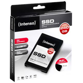 "240GB Intenso High Performance 2.5"" (6.4cm) SATA 6Gb/s (3813440)"