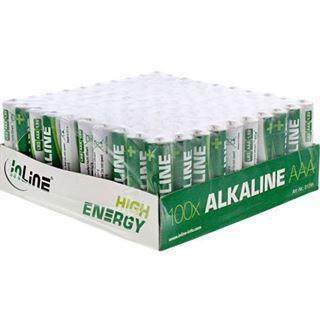 InLine High Energy LR03 Alkaline AAA Micro Batterie 1.5 V 100er Pack