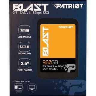 """960GB Patriot Blast 2.5"""" (6.4cm) SATA 6Gb/s TLC Toggle (PBT960GS25SSDR)"""