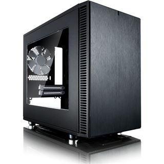 Fractal Design Define Nano S gedämmt mit Sichtfenster Mini Tower ohne Netzteil schwarz