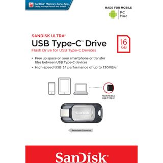 16 GB SanDisk Ultra silber USB 3.0