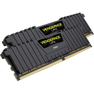 16GB Corsair Vengeance LPX schwarz DDR4-3600 DIMM CL18 Dual Kit