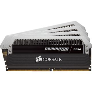 64GB Corsair Dominator Platinum DDR4-3200 DIMM CL16 Quad Kit