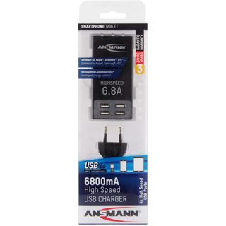 Ansmann USB Charger 6.8A HighSpeed