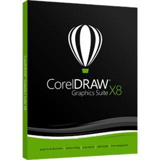 Corel DRAW Graphics Suite X8 EN
