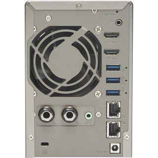 QNAP Turbo Station TS-253A-4G 8 TB (2x 4000GB) WD RED