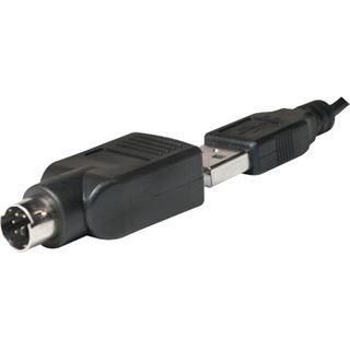 LogiLink ID0018A USB Deutsch weiß (kabelgebunden)