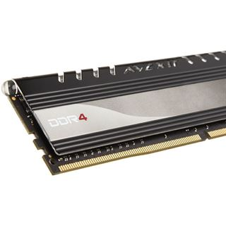 8GB Avexir Core Series red LED DDR4-2400 DIMM CL16 Dual Kit