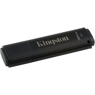 32 GB Kingston DataTraveler 4000 G2 w/M schwarz USB 3.0