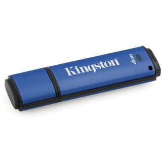 4 GB Kingston DataTraveler Vault Privacy 3.0 blau USB 3.1