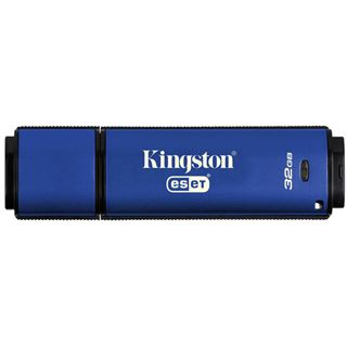 32 GB Kingston DataTraveler Vault Privacy 3.0 blau USB 3.1